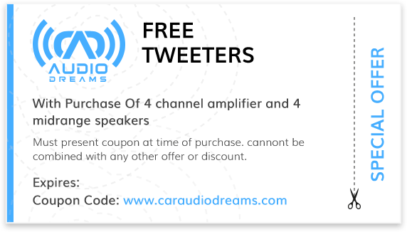 Audio Dreams Coupons Special Offer 10