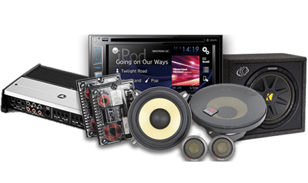complete stereo system