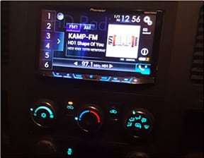 pioneer receiver install