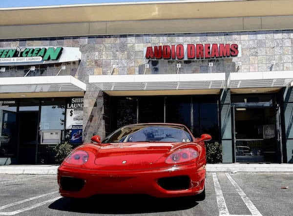 audio dreams ferrari